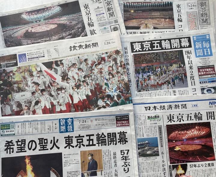 東京五輪開幕 在京紙紙面.jpg